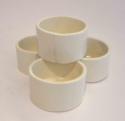 Small Ramekin Set of Four - Handcrafted in Mendocino Handmade in USA MADE - Charcuterie Food Serving - Set of Four Ramekins 3 in Inch Diameter 1 and one half inches tall