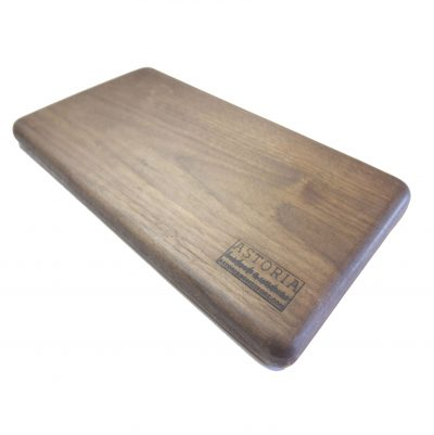 USA MADE IN USA - Handcrafted in Mendocino Village - Solid Dark Walnut Cheese Board - Hardwood - Housewarming Gifts - Picnic Supplies
