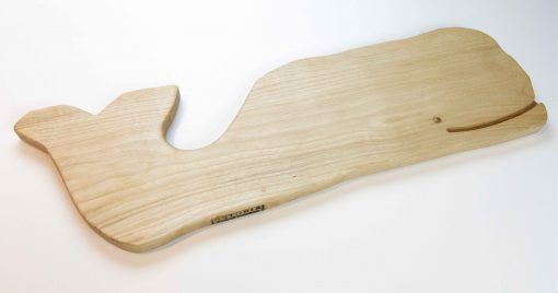 Whale Charcuterie Cheese Board Handcrafted in Mendocino Made in USA MADE IN USA - Birch Charcuterie Board Food Serving - Whale Cheese Board