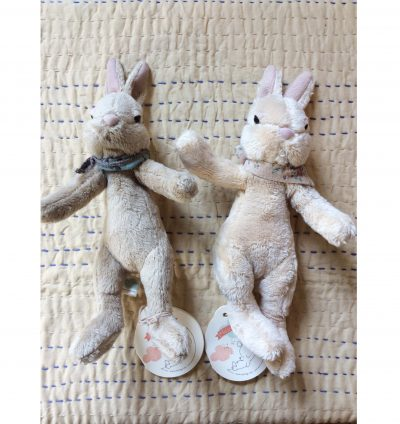Fawn and Cream Maileg Plush Bunny Small - Giftset - Gift Set