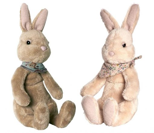 Sitting Fawn and Cream Maileg Plush Bunny Small - Giftset - Gift Set