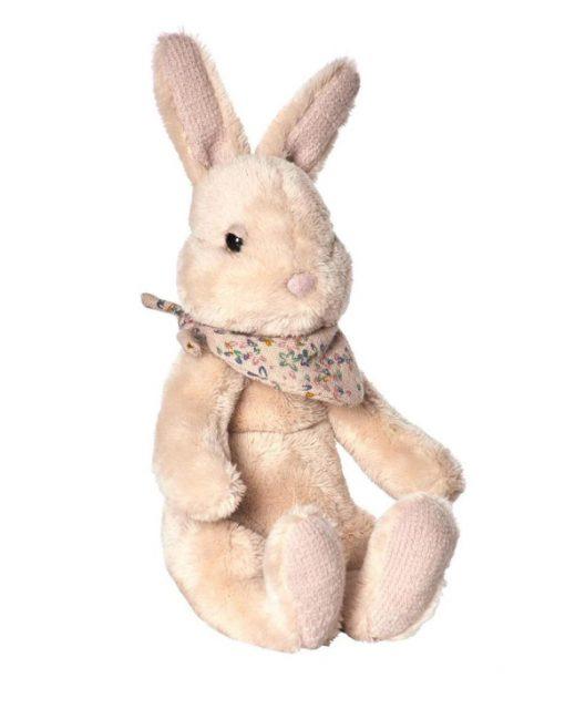 Sitting Maileg Cream Plush Bunny Small - Giftset - Gift Set - Grouping