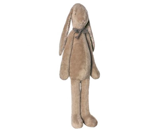 Sitting Maileg Soft Calico Fawn Brown Bunny - Giftset - Gift Set - Grouping
