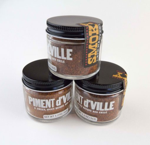 Smoky Sweet Chile Spice of Mendocino County Hand Crafted Chille Powder Spice - USA MADE IN USA - Handcrafted in Boonville Piment d'Ville