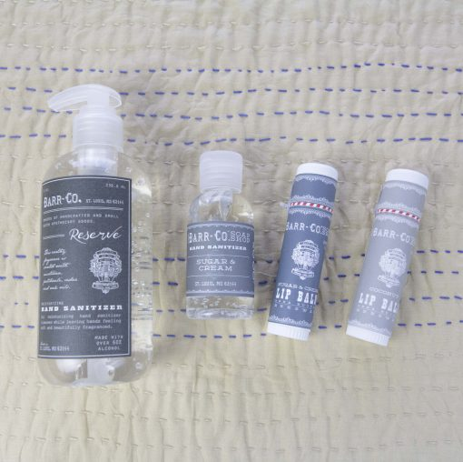 Care Package Gift Set Essential Business Mendocino County Hand Sanatizer 8oz 236ml Big Bottle Reserve and 2 oz Small Bottle - Lip Balm - Astoria Home Decor and Gift Shop