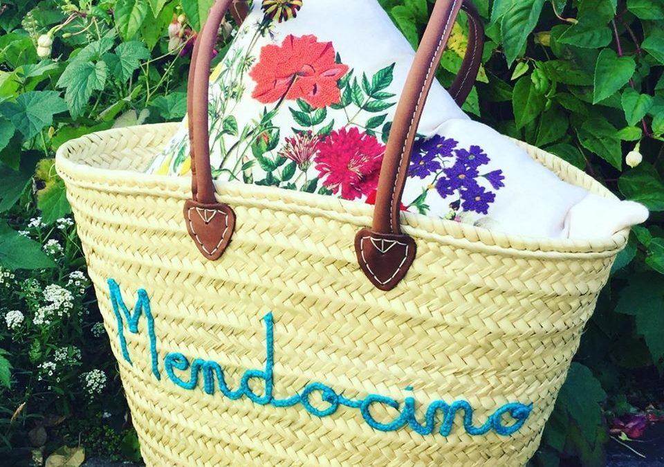 Restocked on our market baskets  – including custom Mendocino ones!