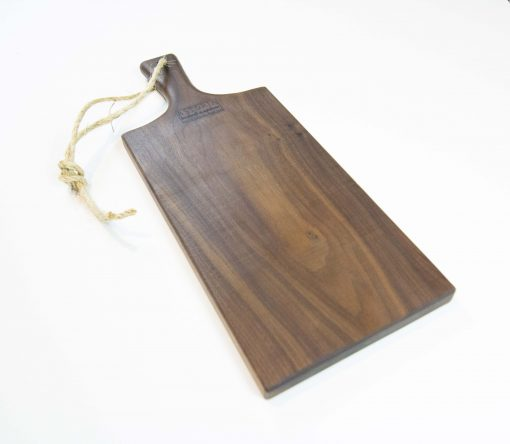Charcuterie Cheese Board Handcrafted in Mendocino Handmade in USA MADE - Black Walnut Charcuterie Board Food Serving - Medium Size - Astoria Gift Shopping