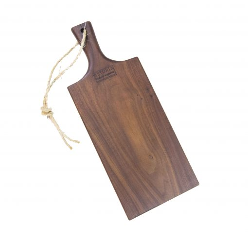 Charcuterie Cheese Board Handcrafted in Mendocino Handmade in USA MADE - Black Walnut Charcuterie Board Food Serving - Medium Sized - Astoria Gift Shopping