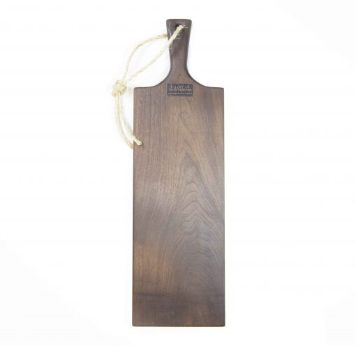 Charcuterie Cheese Board Handcrafted in Mendocino Handmade in USA MADE IN USA - Black Walnut Charcuterie Board Food Serving - Large Size - Astoria Gift Shopping