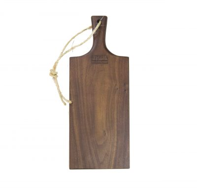 Charcuterie Cheese Board Handcrafted in Mendocino Handmade in USA MADE IN USA - Black Walnut Charcuterie Board Food Serving - Medium Size - Astoria Gift Shopping