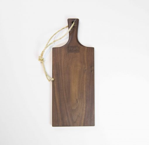Charcuterie Cheese Board Handcrafted in Mendocino Handmade in USA MADE IN USA - Black Walnut Charcuterie Board Food Serving - Medium Sized - Astoria Gift Shopping