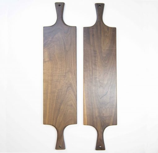 Handcrafted in Mendocino Handmade USA MADE in USA - Charcuterie Boards Food Serving Boards - Double Handled Double Deal - Grouping - Cheese Boards - Cutting Boards