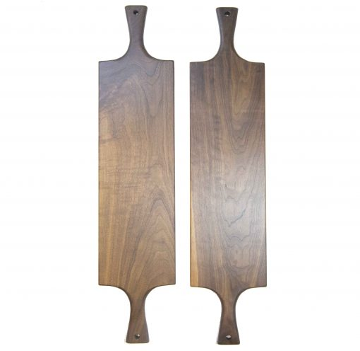 Handcrafted in Mendocino Handmade USA MADE in USA - Charcuterie Boards Food Serving Boards - Double Handled Double Deal - Grouping - Cheese Boards - Two Cutting Boards
