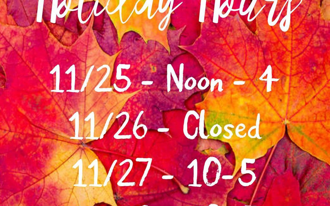 Happy Thanksgiving in Mendocino New Shopping Hours for the Holidays Black Friday Deals in Mendocino Village
