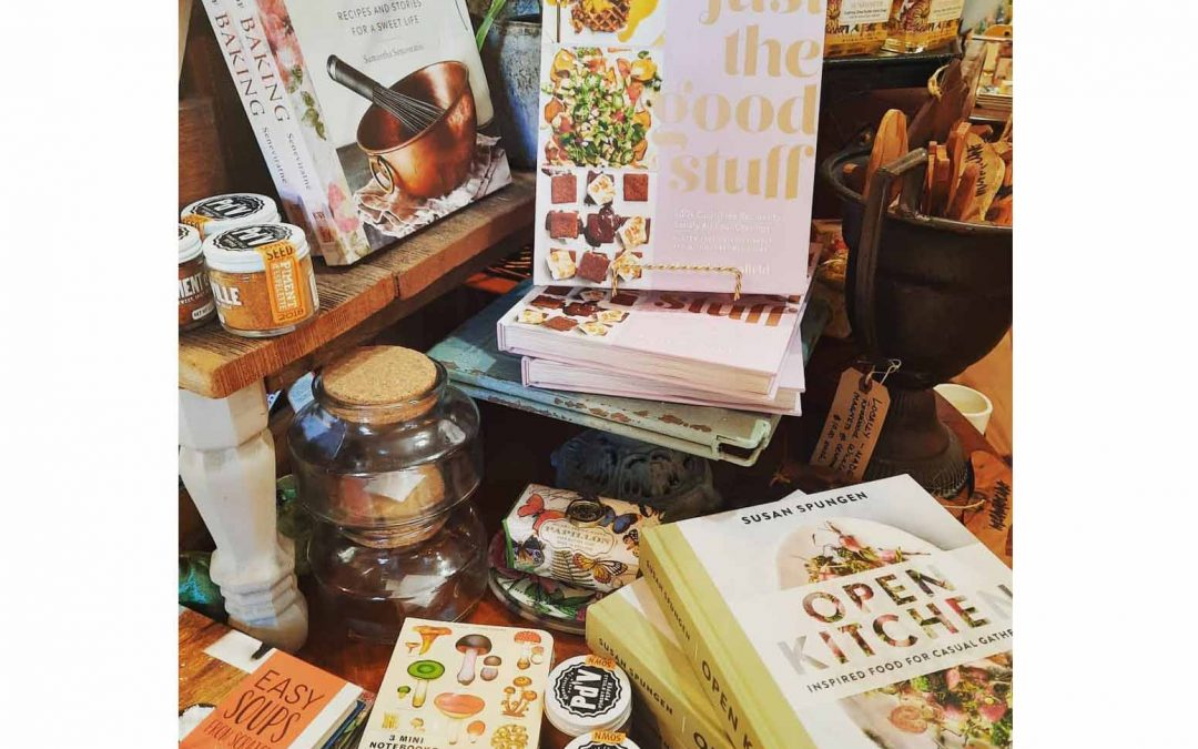 Some great new cookbooks are here!  Want to make some changes in the new year?  Learn how to incorporate more gluten free and paleo meals with 'Just the Good Stuff'  We have a limited amount so if you cannot make it to the shop, call, email, Instagram or Facebook message us and we can let you know what we have and ship it!