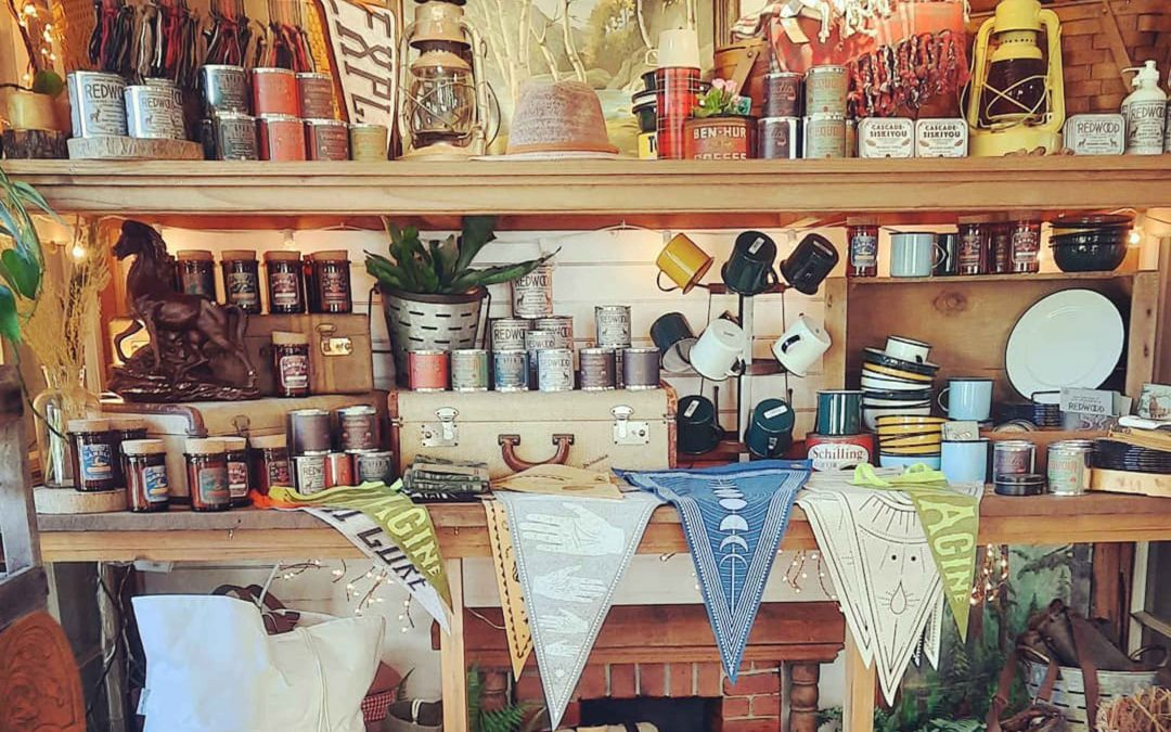 Shopping for Scented Candles in Mendocino Village?  We have you covered!  We have a giant collection of Voluspa Candles  and these New Wood Wicked Scented Candles  from Good & Well Supply!  We also have a bunch more, so stop on by our shop!
