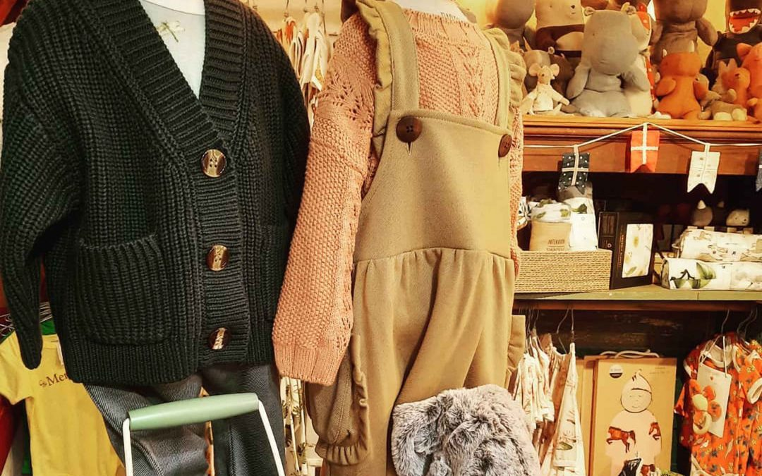 Shopping for Baby Clothes in Mendocino?  Need warm clothes for the baby?  We have the cutest sweaters here with sizing up to 2t!
