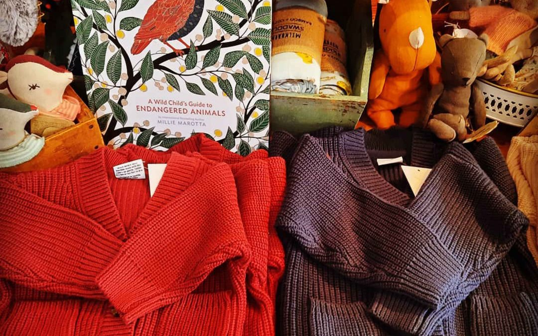 Shopping for Cozy sweaters for rainy, cold days in Mendocino Village? These sweaters make great baby gifts for this winter!o, California .