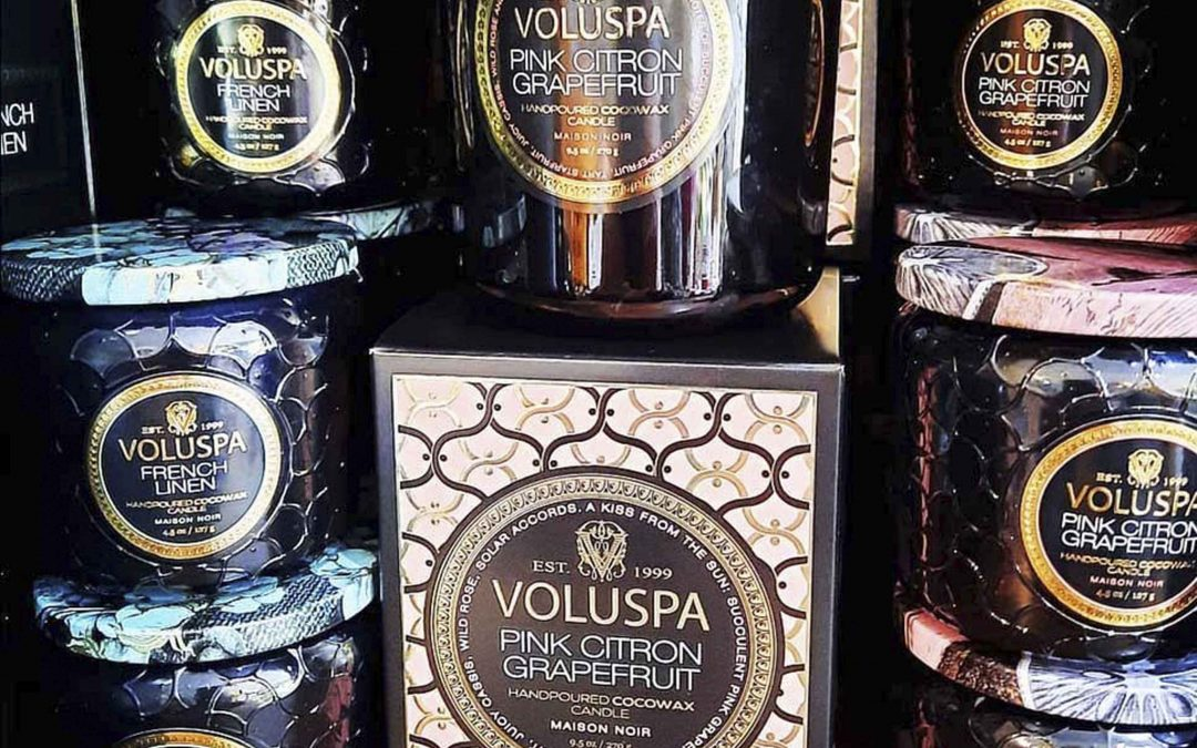 Beautiful new fragrances and containers are here from Voluspa Candles  — 😚 find your new favorite fragrance at  Astoria Home Decor & Gifts of Mendocino!  We are always getting new candle fragrances in!