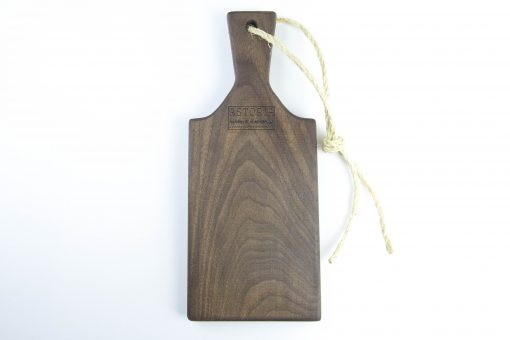 Woodworking in Mendocino Locally Handcrafted Made in the USA MADE Small Size Black Walnut Charcuterie Board Gift Astoria Product Astoria Home Décor and Gifts - Gift Set of 3 Product Photo