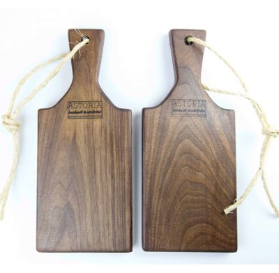 Woodworking in Mendocino Locally Handcrafted Made in the USA MADE Small Size Black Walnut Charcuterie Board Gift Astoria Product Astoria Home Décor and Gifts Product Photo