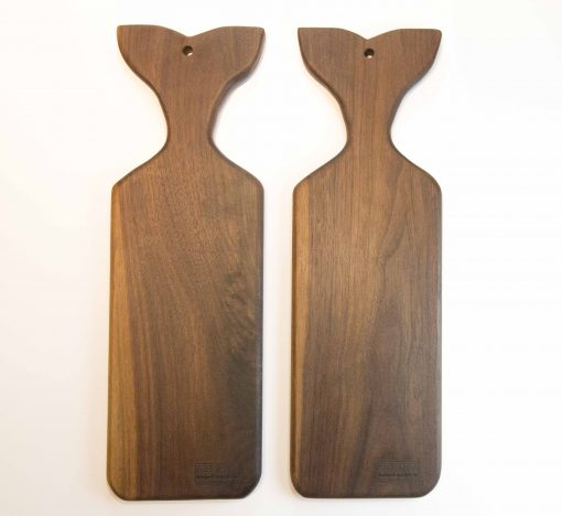 Shopping for Sperm Whale Shaped Charcuterie Cheese Board Serving Board Platter Cheese Paddle Solid Black Walnut Locally Handmade in Mendocino Made in USA Made North Coast Shopping