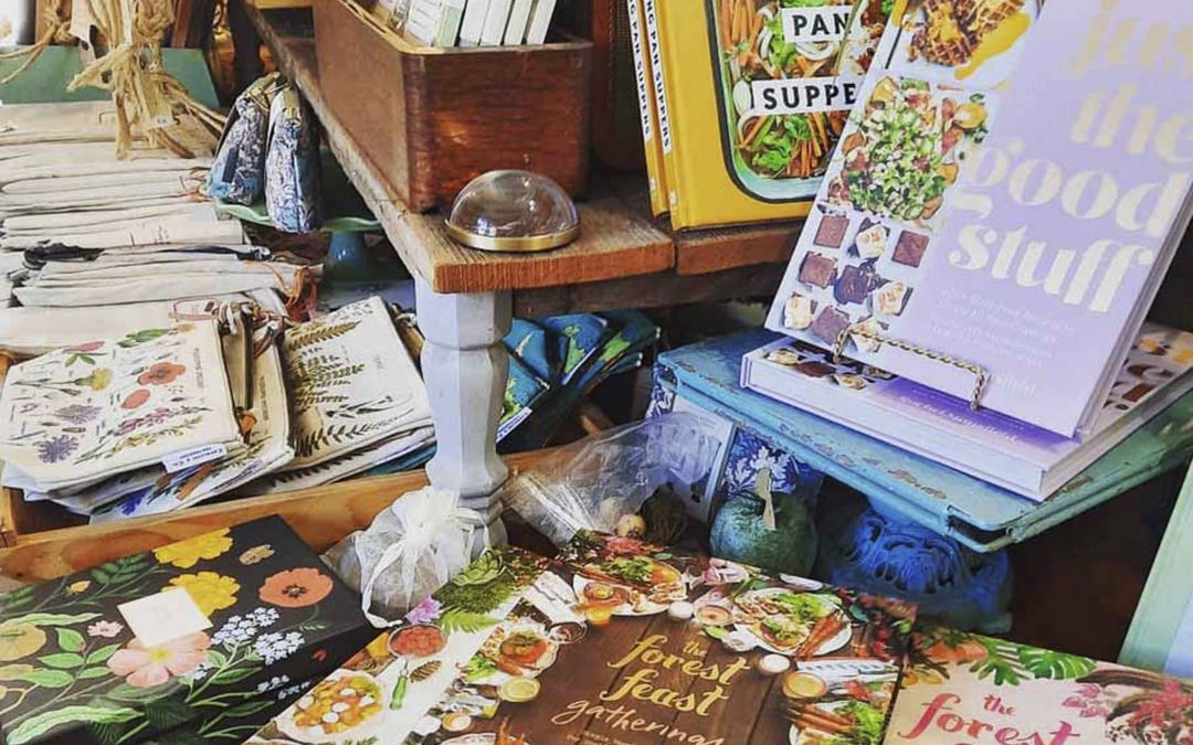 Cookbooks are restock!  Including one of our favorites: The Forest Feast!  Stop on by or contact us here if interested :)