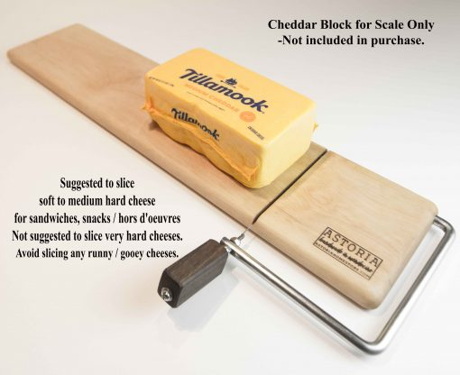 Extra Large Cheese Slicer fits an Large Long Block of Cheese Handmade in Mendocino Handcrafted Cheese Slicer Large Cheese Slicer 24 inches long Made in USA Made