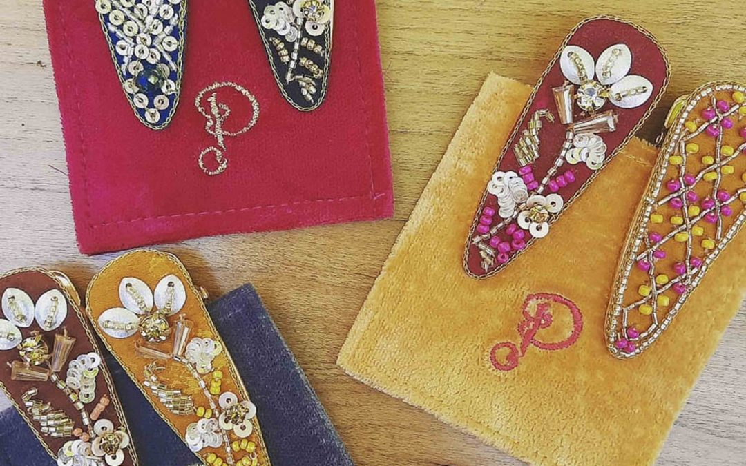 Pretty little hair clips are here!  If you are shopping for hair accessories  in Mendocino Village,  stop on by!  -Cannot make it to our shop?  Contact Us, we can ship your item or gift!